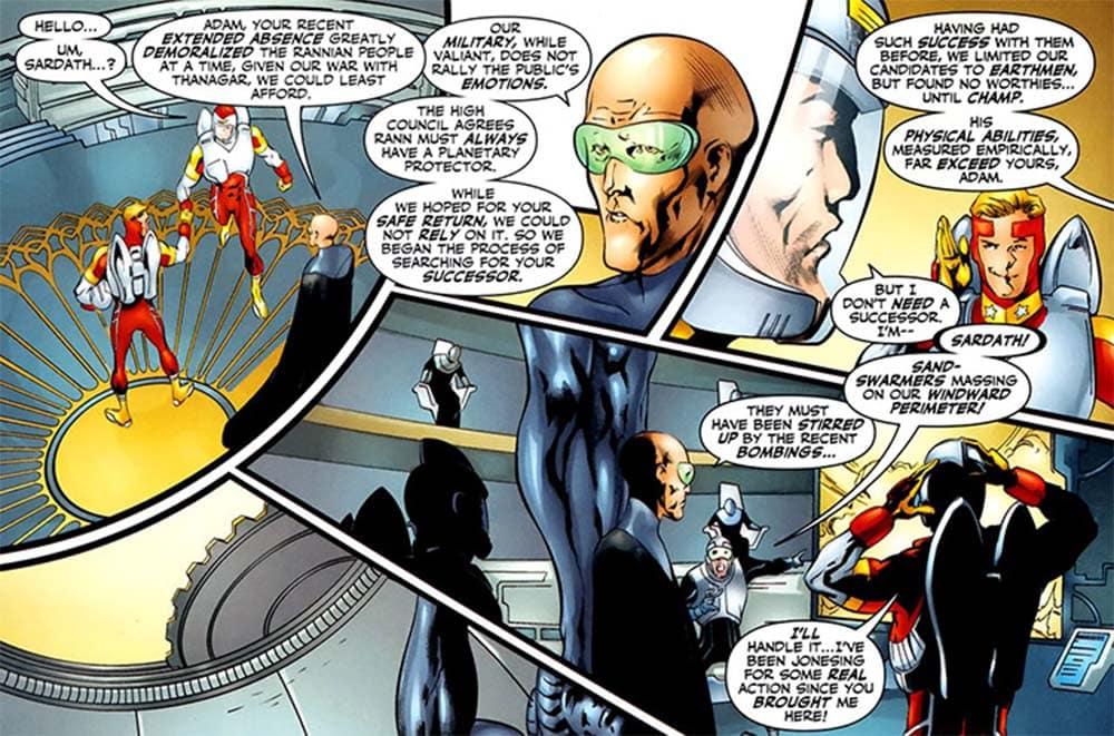Aliens do Universo DC - Rann