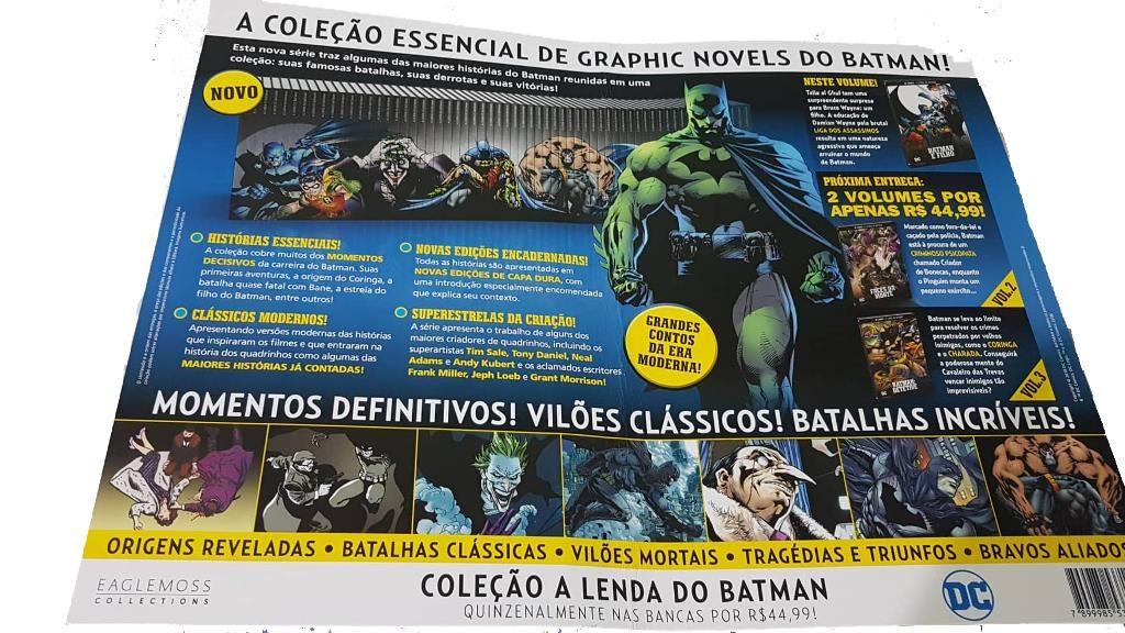 """Coleção """"Lenda do Batman """" - O que podemos esperar? 3"""