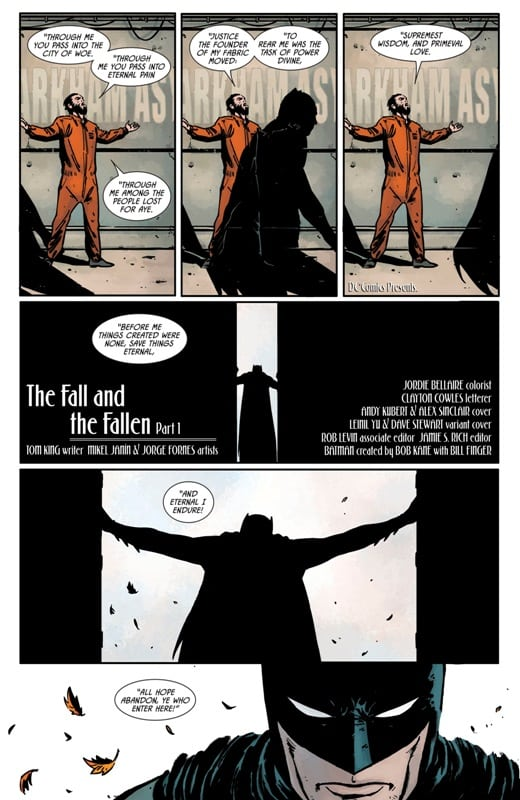 Batman #70 – O Morcego Adentra o Inferno 6
