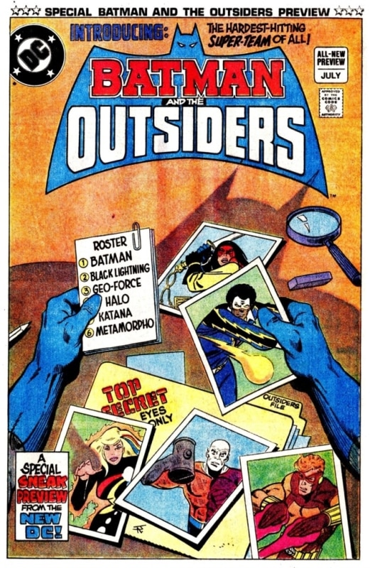Batman and The Outsiders Nº 1 2