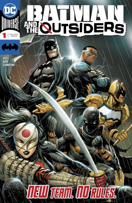 Batman and The Outsiders Nº 1 5