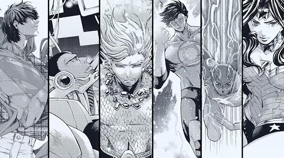 Mangá Batman e a Liga da Justiça termina em julho 1