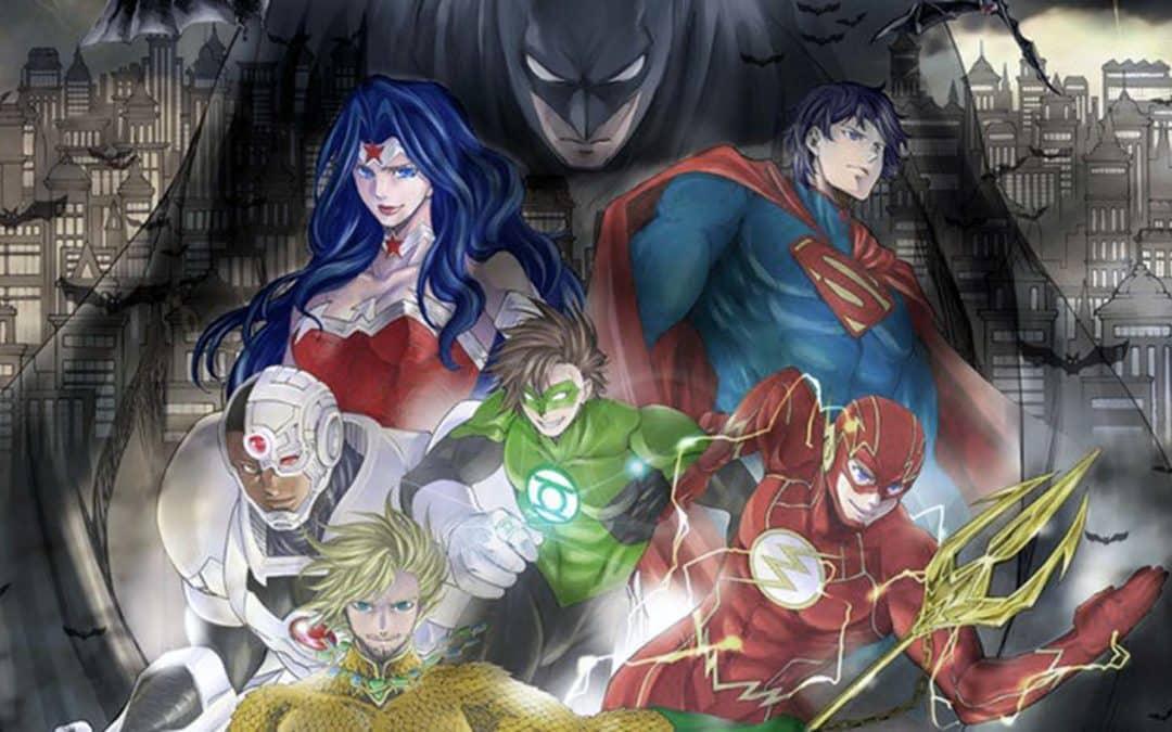 Mangá Batman e a Liga da Justiça termina em julho
