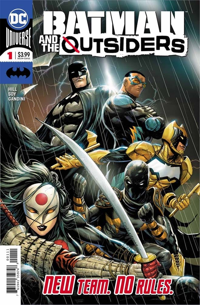 "DC Divulga Novo Preview de ""Batman And The Outsiders"" 4"