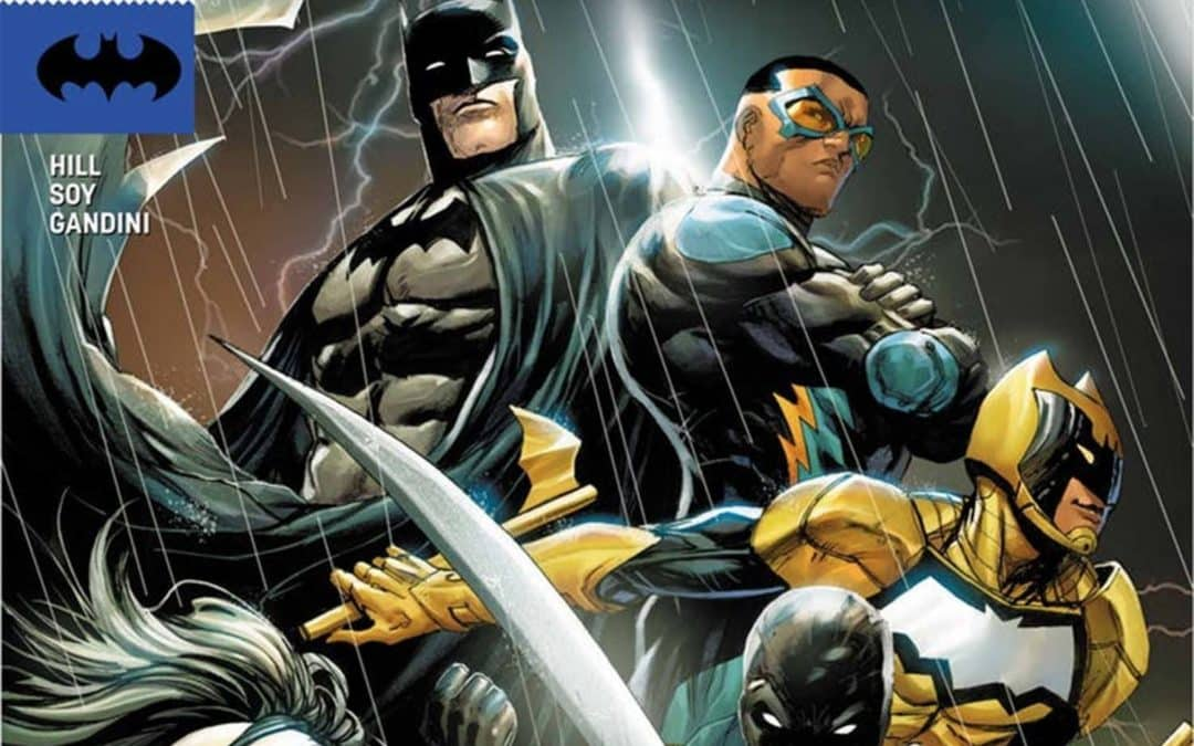 "DC Divulga Novo Preview de ""Batman And The Outsiders"""