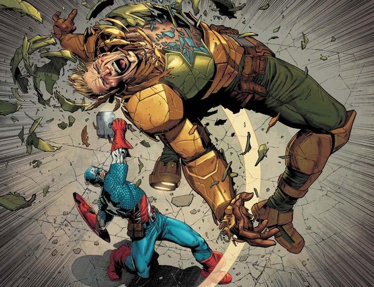 O Capitão América é digno do Mjölnir? 4