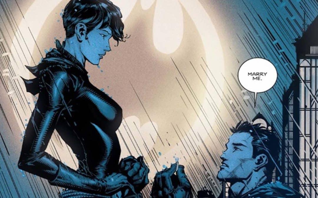 Bruce Wayne e Selina Kyle convidam os leitores brasileiros para o casamento