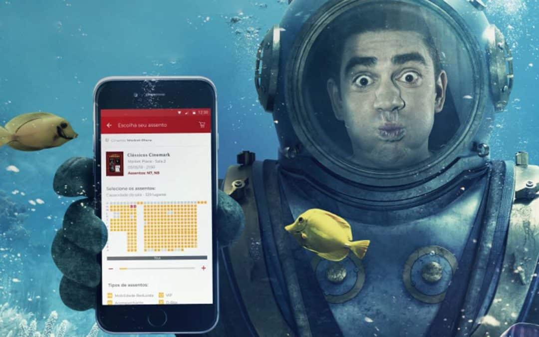 Cinemark aposta em plataforma própria de venda de ingressos
