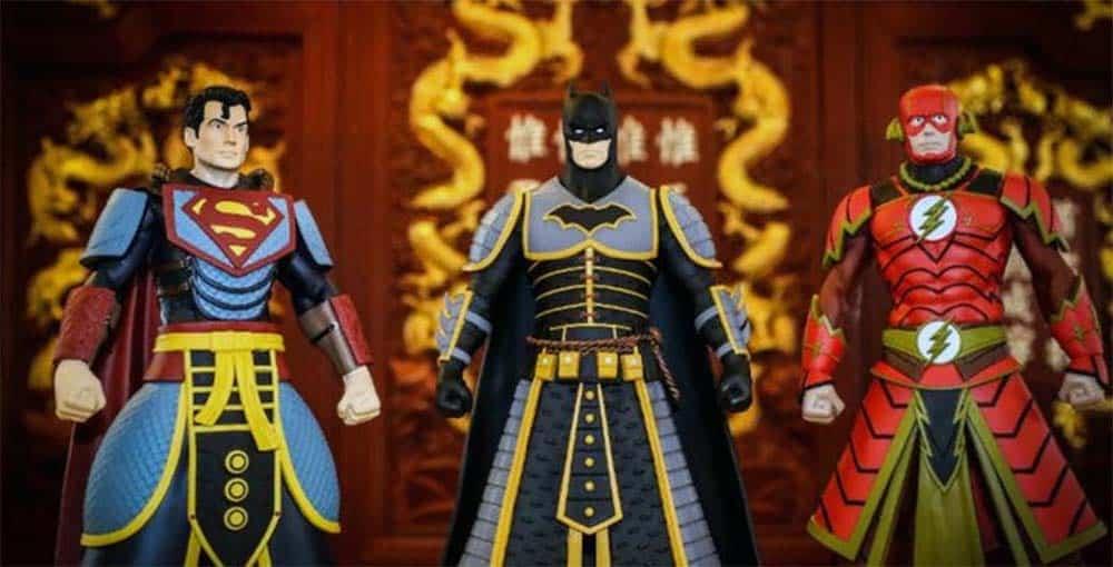 Personagens da DC Viram Guerreiros Chineses em Nova Coleção 1