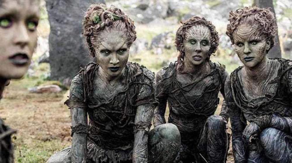 Imagem dos Filhos da Floresta de Game of Thrones da HBO