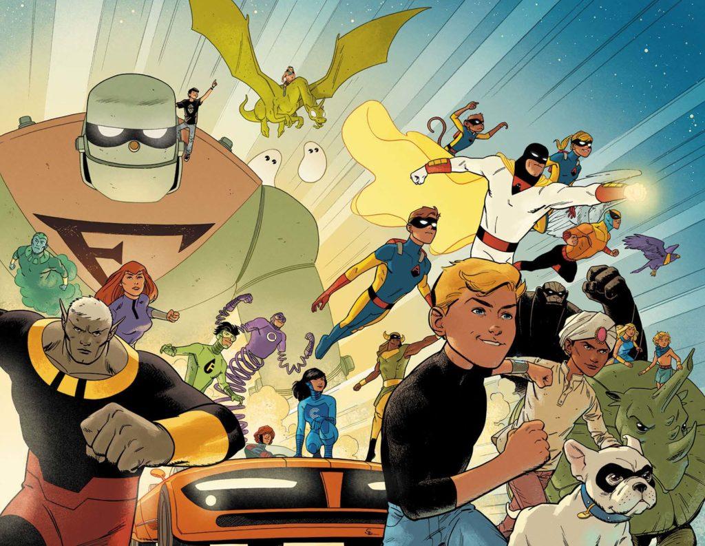 Conheça a Revitalização das HQs Hanna-Barbera de 2016 1