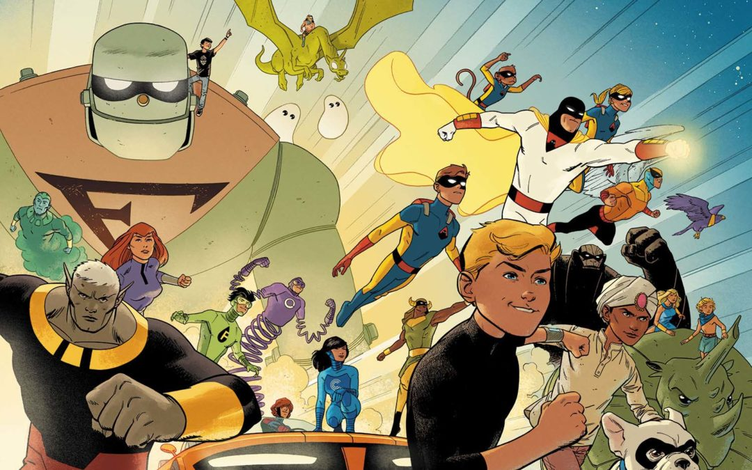 Conheça a Revitalização das HQs Hanna-Barbera de 2016