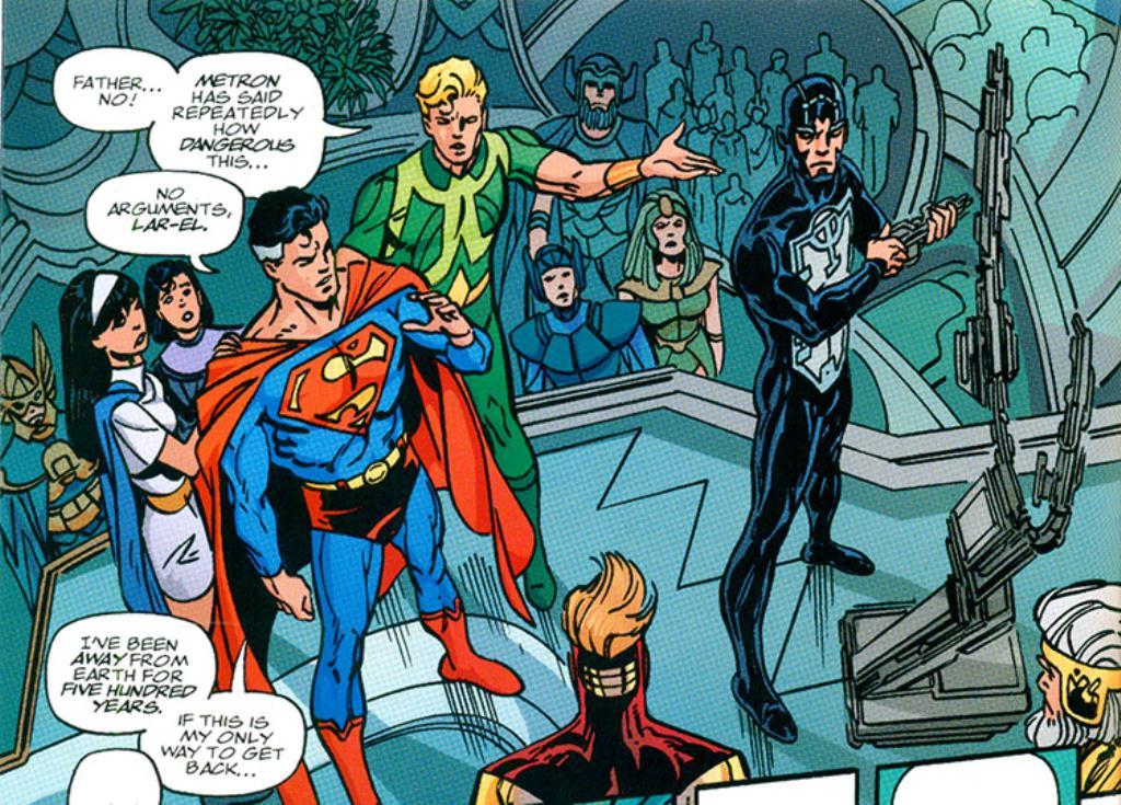 Superman e Batman: Gerações - Uma Saga Imaginária (1999) - Baú de HQs 1