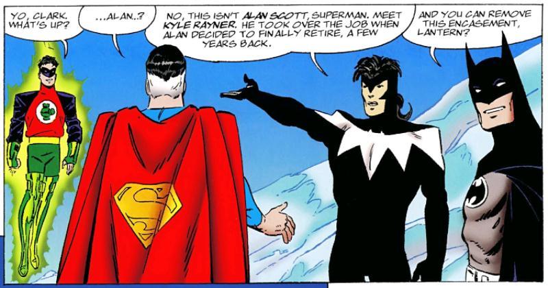 Superman e Batman: Gerações - Uma Saga Imaginária (1999) - Baú de HQs 2