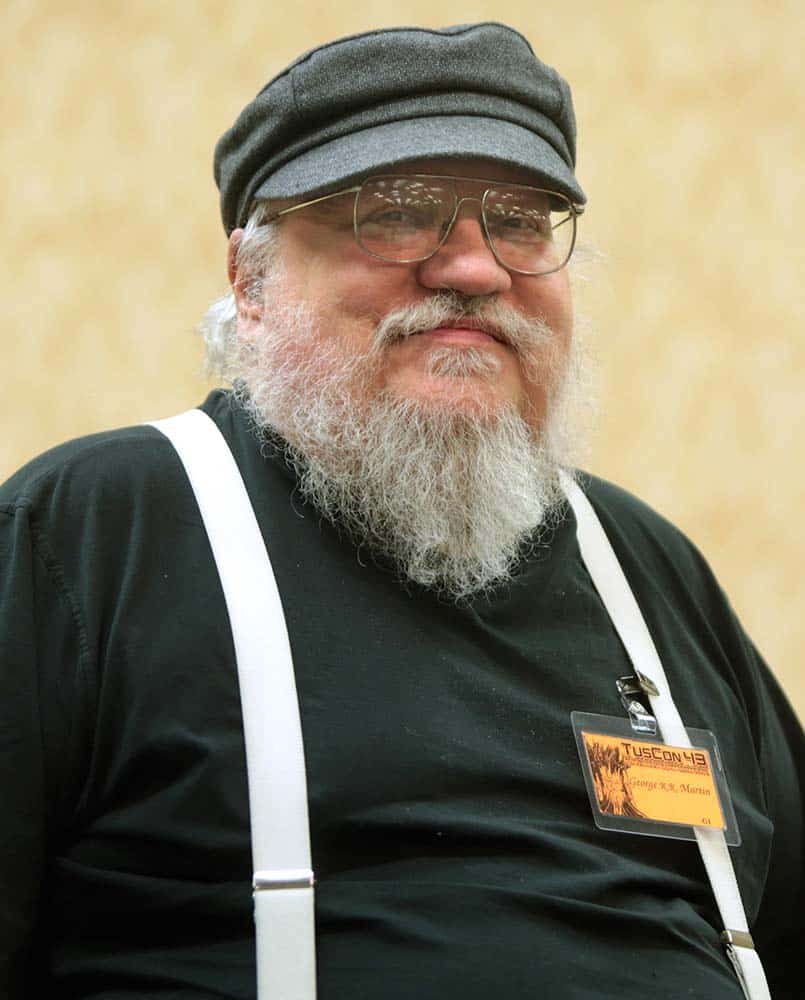 George R. R. Martin, criador de Game of Thrones da HBO