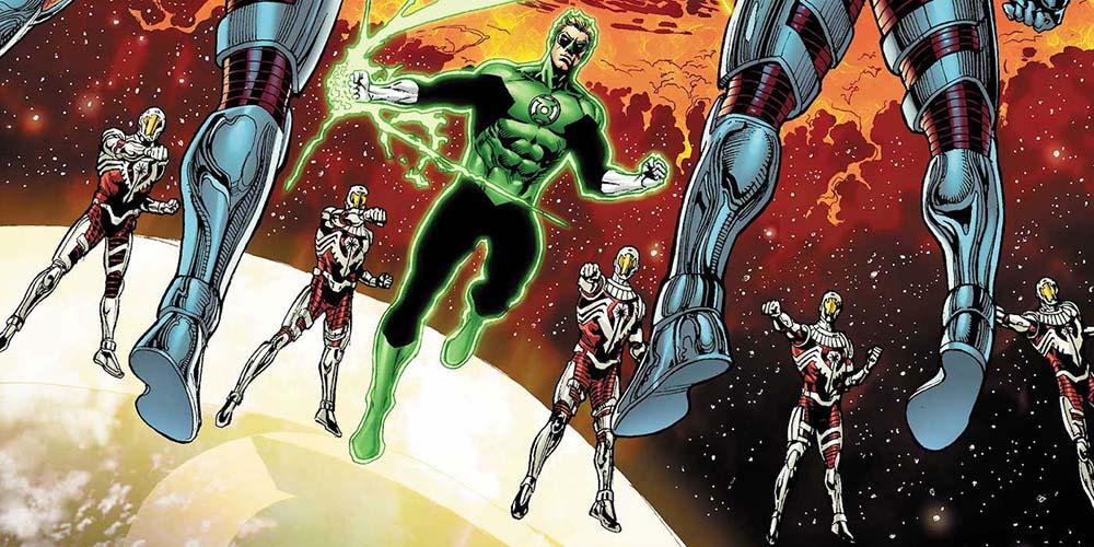 A Guerra Lanternas Verdes x Darkstars 1