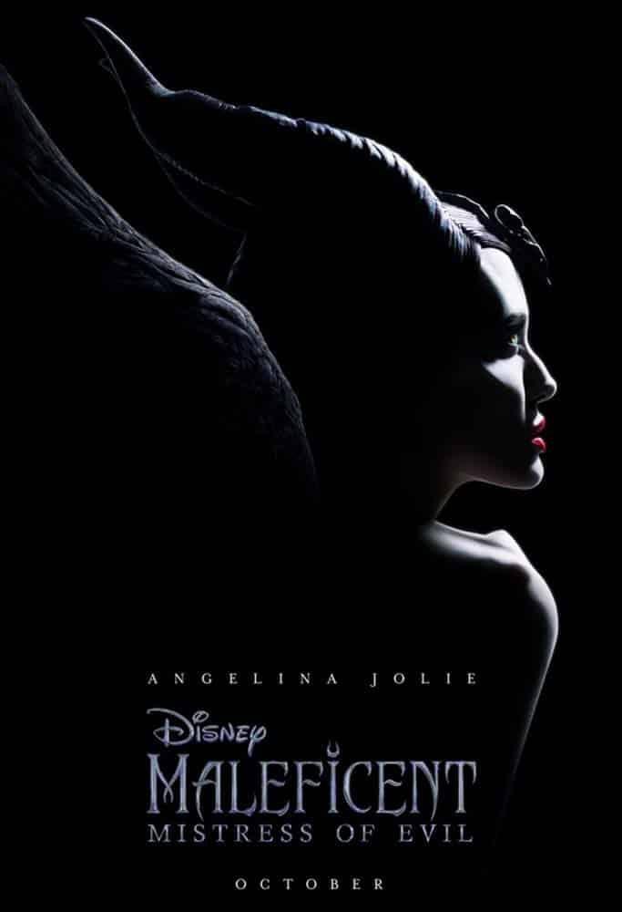 Angelina Jolie como Malévola em imagem do filme Malévola: Dona do Mal