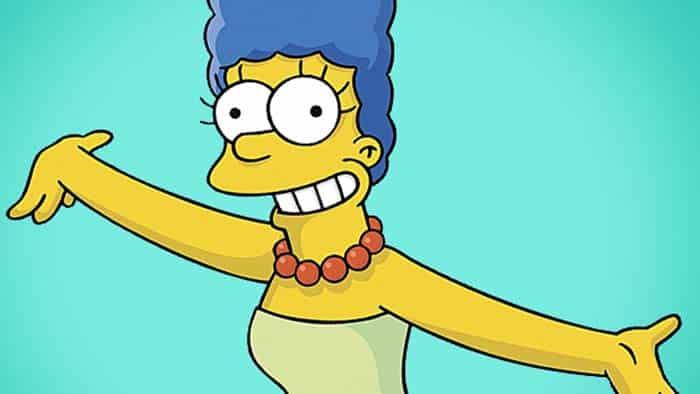 Marge Simpson, da animação Os Simpsons