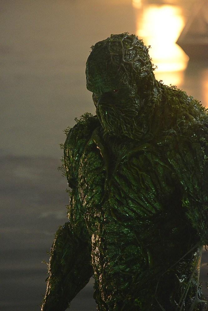 Piloto da série do Monstro do Pântano tem exibição para imprensa americana 2