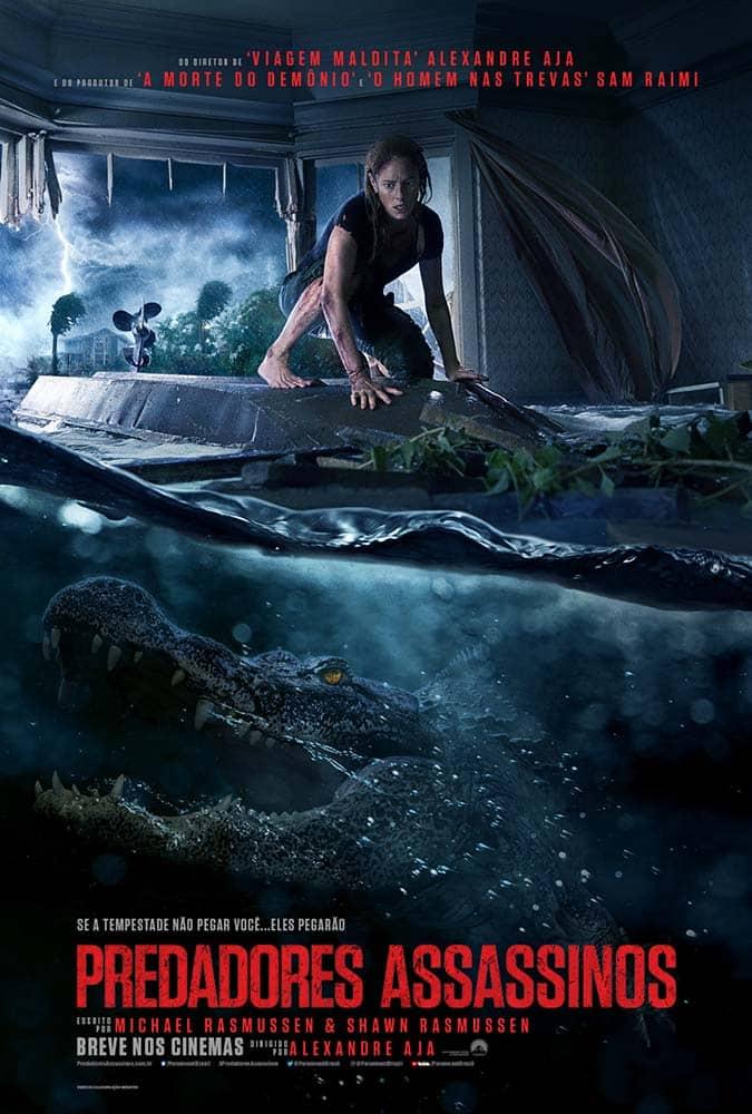 Poster de Predadores Assassinos (crawl) de Alexandre Aja