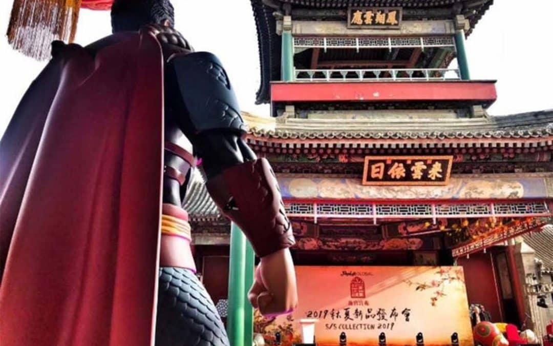 Personagens da DC Viram Guerreiros Chineses em Nova Coleção
