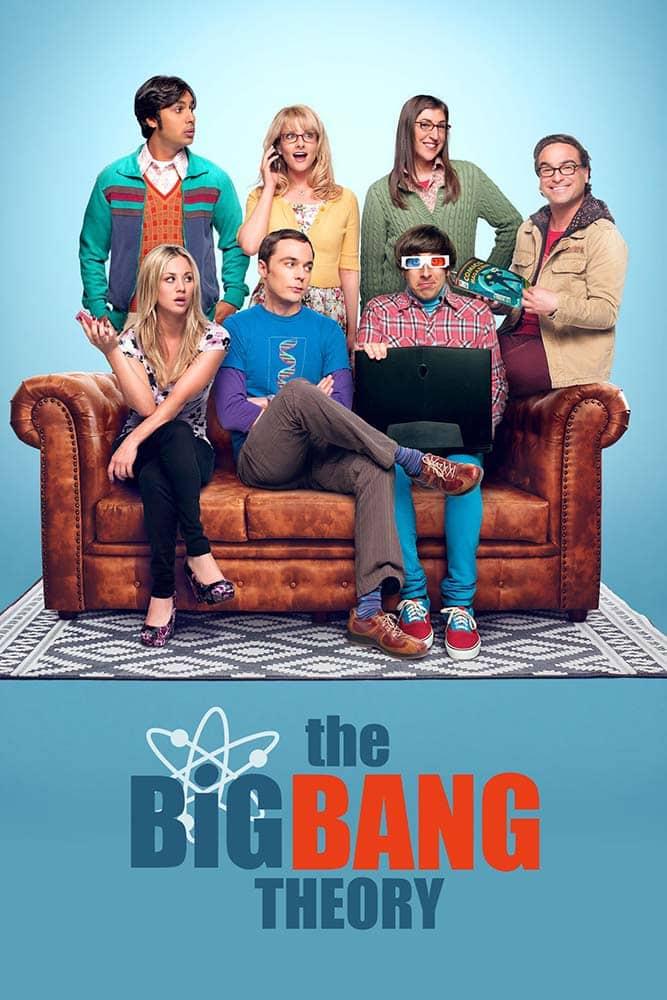 Poster da série The Big Bang Theory da CBS