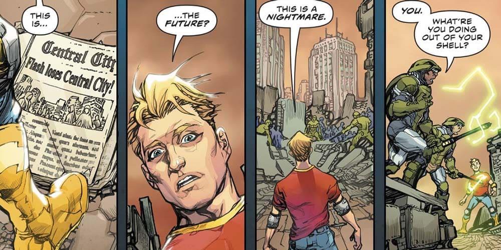 Flash Ano Um: a Origem Secreta de Barry Allen 3