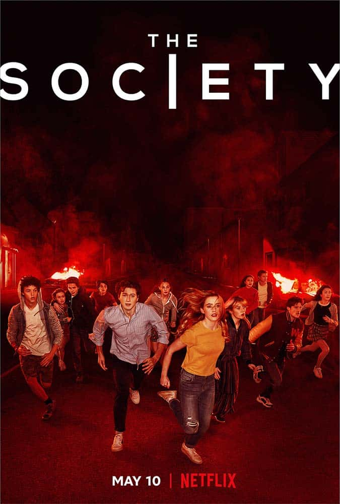 Poster do seriado The Society da Netflix