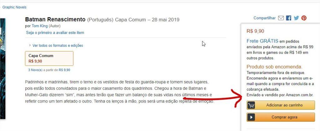 Amazon começa a vender revistas mensais da Panini 2