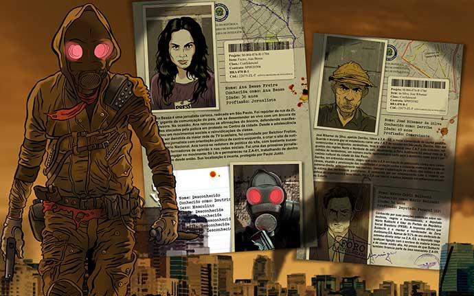 Selo 'Universo Guará' começa a chegar nas bancas de jornal para disputar espaço com HQs americanas
