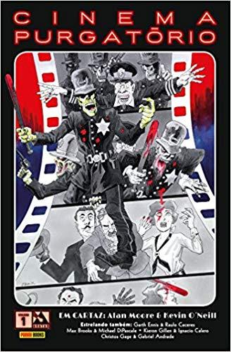 Capa de Cinema Purgatório 1 Lançado no Brasil pela Panini Comics