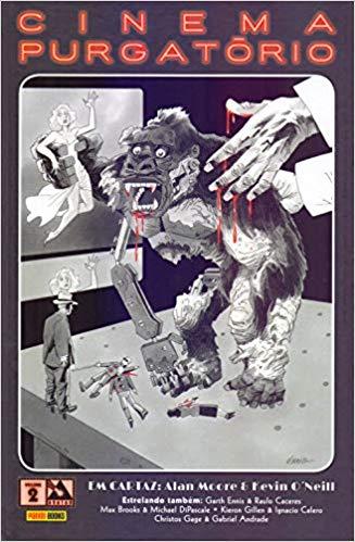 Capa da Edição 2 de Cinema Purgatório lançado pela Panini Comics no Brasil