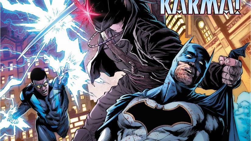 Batman Enfrenta um novo Vilão: Karma 2