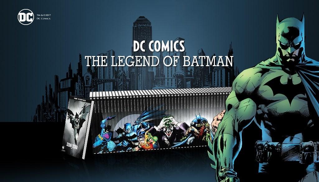 """Coleção """"Lenda do Batman """" – O que podemos esperar?"""