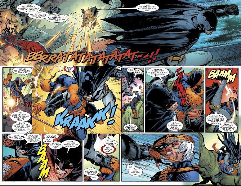 """""""Exterminador"""" Vol. 5 traz confronto com o Homem Morcego 2"""