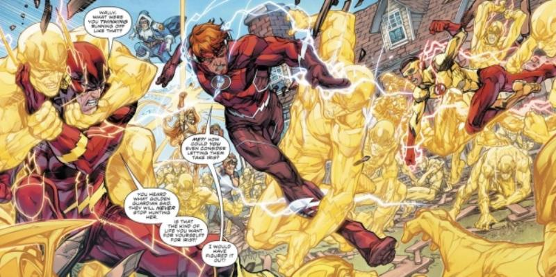 A Guerra do Flash da DC Comics 2