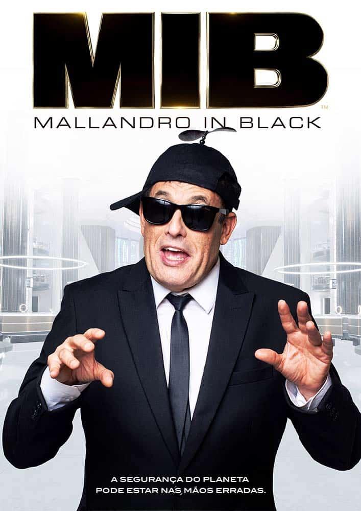 Mallandro in Black parte 2 2
