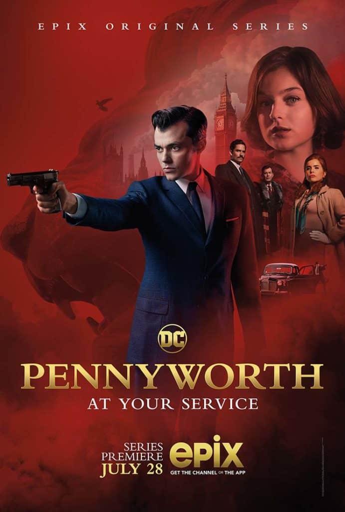 Novo trailer de Pennyworth, série do universo de Batman 2