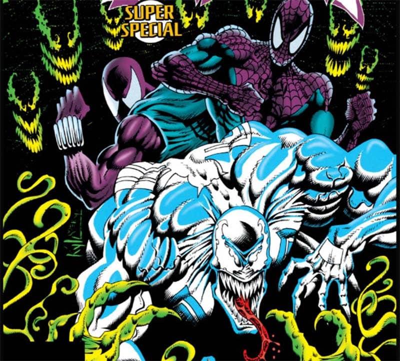 Planeta dos Simbiontes (1995) - Baú de HQs 3