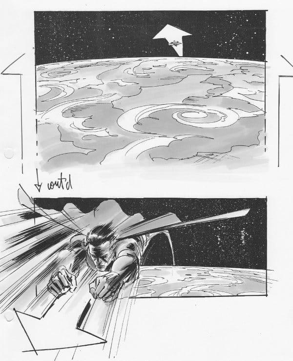Superman Flyby – Veja Stoyboards do Filme Cancelado de J.J. Abrams 1
