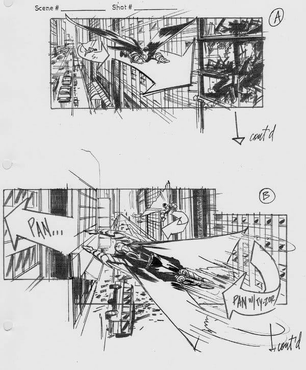 Superman Flyby – Veja Stoyboards do Filme Cancelado de J.J. Abrams 2