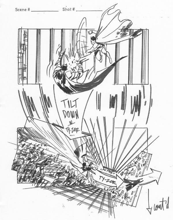 Superman Flyby – Veja Stoyboards do Filme Cancelado de J.J. Abrams 3