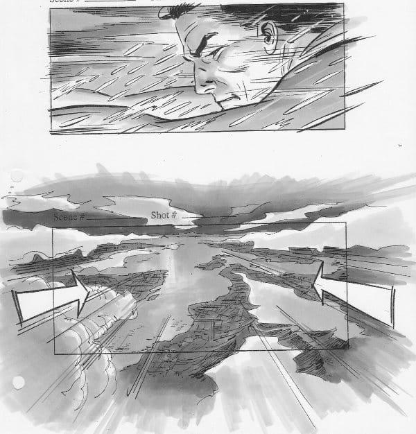 Superman Flyby – Veja Stoyboards do Filme Cancelado de J.J. Abrams 4
