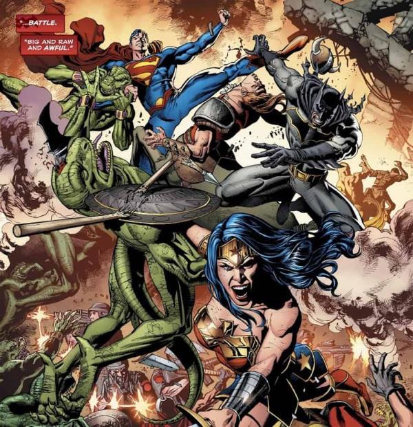 Trindade Vol. 4 - DC traz O Guerreiro e o Universo de Skartaris de volta 2