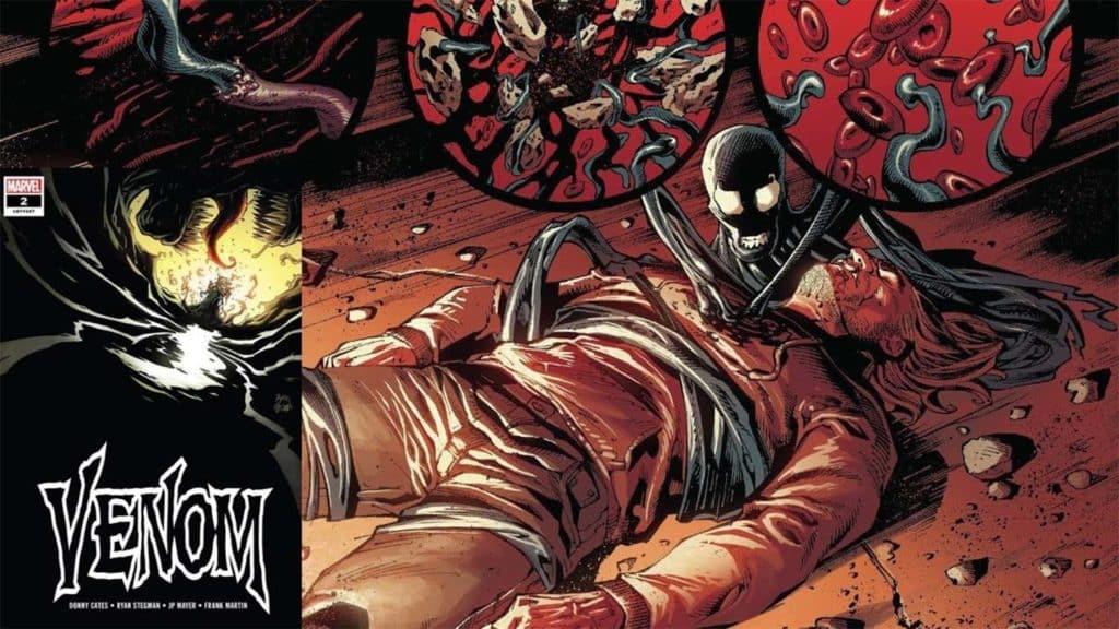 """Donny Cates Começa Muito Bem em """"Venom"""" 1"""