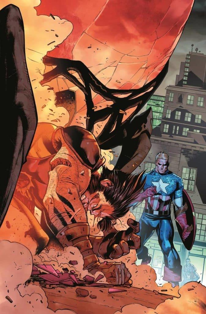 Wolverine e Capitão América enfrentam o passado 6