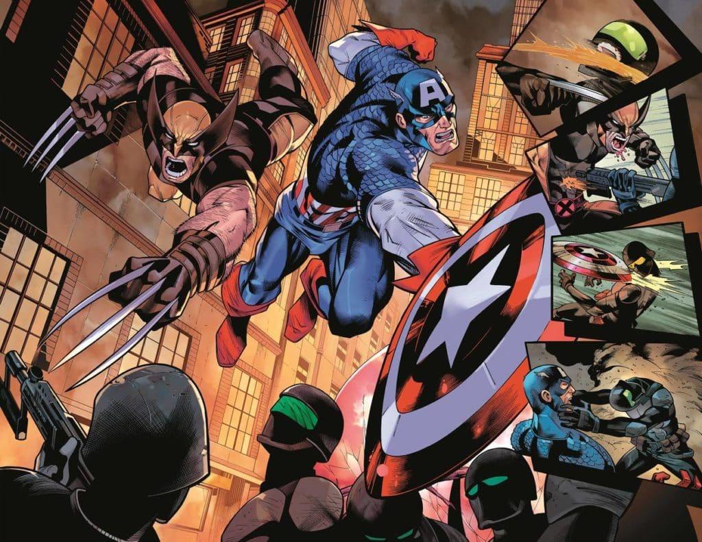 Wolverine e Capitão América enfrentam o passado 7
