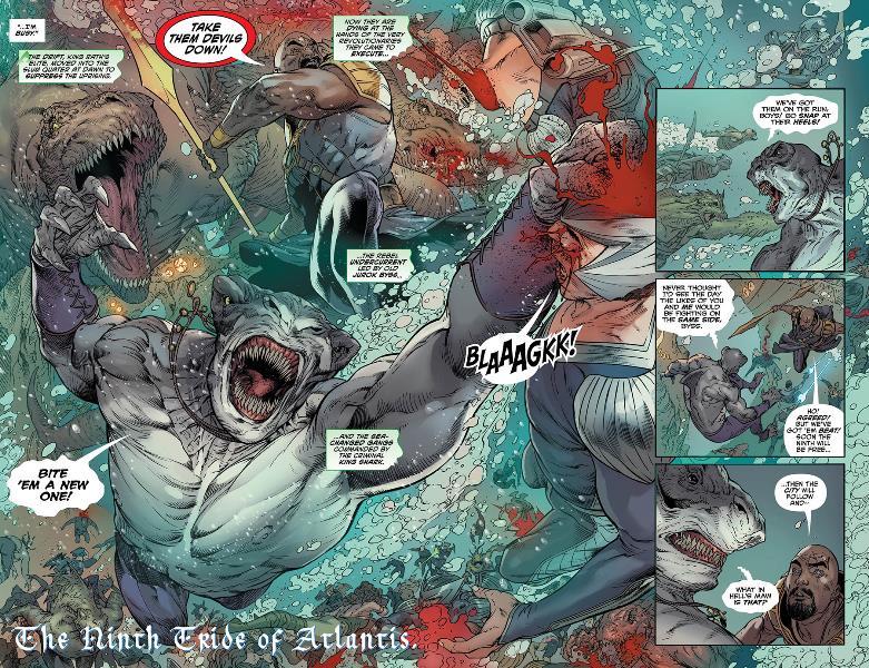 """Lado Mágico de Atlântida é Revelado em """"Aquaman"""" Vol.7 2"""