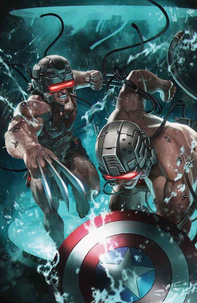 Wolverine e Capitão América enfrentam o passado 4