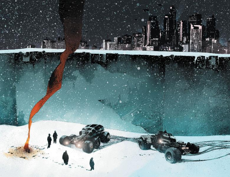 O Universo Apocalíptico de FrostBite da Vertigo 2